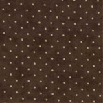 8654-45 Moda Chocolate Brown Essential Dots