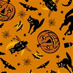 8842-O Haunting Halloween Collage