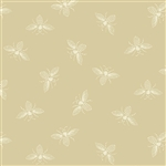 #9084-L Beehive Cream French Bees
