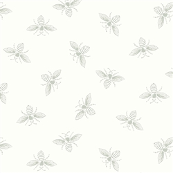 #9084-LC1 White Wisp French Bee