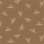9084-N Riveria Rose Brown French Bees