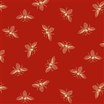 9084-R Riveria Rose Red French Bees