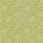 9085-G1 French Chateau Moss Green Floral