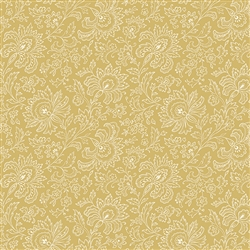 9085-Y1 French Chateau Golden Floral