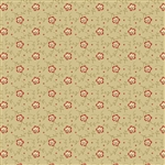 9086-L Riveria Rose Tan Dotty Vines