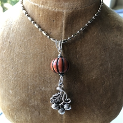 Acorn Charm Necklace