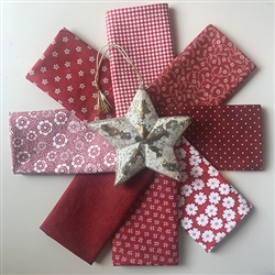 Celebration RED Fat Quarters