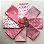 Happy Pink Fat Quarters