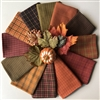 Pumpkin Patch Plaids Fat Quarters