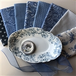Regal Blues Fat Quarters