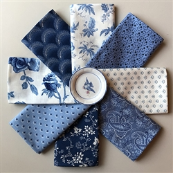 Regency Blues Plus Fat Quarters