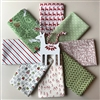 REINDEER FROLIC Christmas Fat Quarters