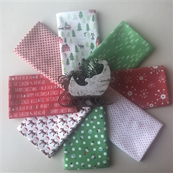 SLEIGH RIDE Fat Quarters