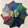 SUCCULENTS Linen Texture Fat Quarters