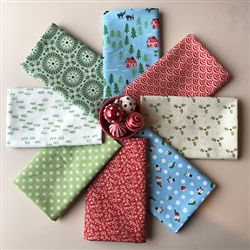 WINTERLAND Fat Quarters