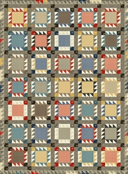 Front Porch Affair Quilt Model