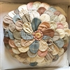 Vintage Zinnia Pillow