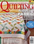 American Patchwork & Quilting April 2014 Magazine