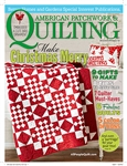 American Patchwork & Quilting Dec 2014 Magazine