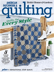 American Patchwork & Quilting February 2020
