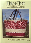 A Pickin' Cute Tote Pattern #191