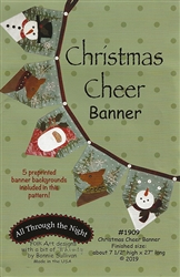 CHRISTMAS CHEER BANNER Pattern