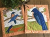 Bluebirds Wallhangings Pattern