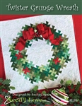 Twister GRUNGE Wreath Pattern