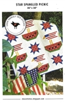 Star Spangled Picnic Quilt Pattern
