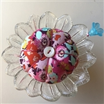 Antique Flower Pincushion