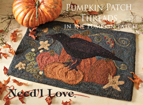 In The Pumpkin Patch Hooked Rug Canvas From Need L Love