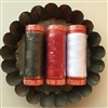 RED AURIFIL THREADS 50wt Color 2250