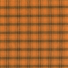 Orange & Brown Plaid