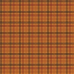 WV-5354-O Pumpkin Patch Plaid