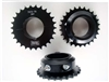 428 Split Sprocket, 7075 T-6 Grade Alloy 21T - 27T Sold Individually