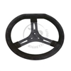 340 mm (13.4 inches) Suede TaG Shifter Kart Steering Wheel