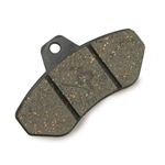 Righetti K183 Rear Brake Pad, Hard Type (111), Black Color (sold as a set of 2)