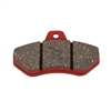 Rear Brake Pad 220 Red  (Sold as a set of 2)