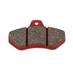 Rear Brake Pad 220 Red  (Sold Individually)