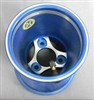 Metric Pattern 3/58 Rear Go Kart Wheel 180 mm Select RED OR BLUE