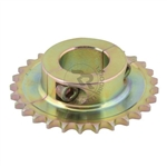 #428 40MM Axle Sprocket 8MM Key