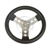280 mm Steering Wheel With Steel Spokes Covered with Polyurethane