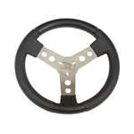 300 mm Steering Wheel With Steel Spokes Covered with Polyurethane