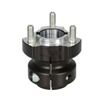 30mm Aluminum Rear Hub Length 62mm Key 6/8mm