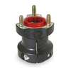 40mm Aluminum Rear Hub Length 77mm Key 8mm