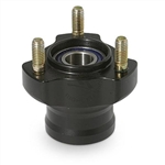 17mm Aluminium Front Hub (select length and color)