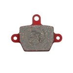 Brake Pad 2X2 Red (Hard)