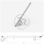 Birel Style Steering Column Shaft 510mm long M8