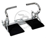 Mini / Cadet Kart Adjustable Complete Pedal and Foot Rest Set