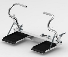 Go Kart Adjustable Complete Pedal and Foot Rest Set